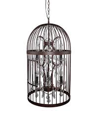 15 best collection of birdcage pendant lights chandeliers