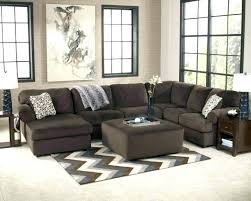 Chaise Lounge Sectional Extraordinary Sectional With Ottoman And Chaise Lounge Regard To