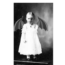 Vintage Creepy Halloween Photos Bizarre Devil Freak Creepy Vintage Costume Photo