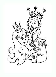 Roi reine 2  Coloriage de Rois et Reines  Coloriages pour enfants
