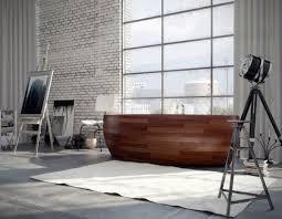 Wood Bathtubs Exquisite Wooden Bathtubs From Unique Wood Design Interior