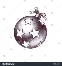 hand drawn sketch christmas clip art stock illustration 119407519