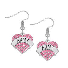 army jewelry factory direct provide fashion us army jewelry heart name