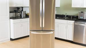 lg bottom freezer french door refrigerator lg lfc22770st 22 cu ft largest capacity 30