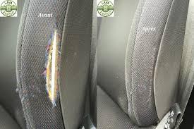 reparation siege cuir voiture réparation tissu lavarapido