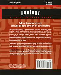geology a self teaching guide barbara w murck 9780471385905