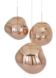 melt pendant ø 50 cm copper by tom dixon