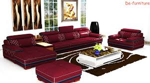 Real Leather Sofa Set by Modern Genuine Leather Sofa Set Home Furniture Office Furniture