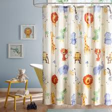 Animal Shower Curtain Shower Curtain Kid U0027s Animal Print Mzk70 093ol 30 00