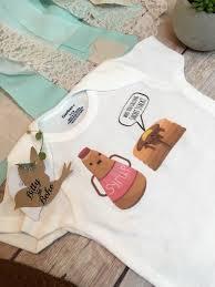 pancake onesie baby shower gift short stack hipster baby