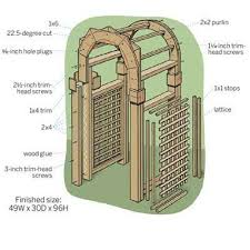 how to build a trellis archway 17 best images about gate on pinterest gardens vinyls and white