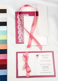 Diy Wedding Invitations Kits 74 Best Lace Real Lace Invitations Images On Pinterest Diy