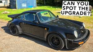 porsche 911 whale tail turbo another exterior mod porsche 911 930 turbo project youtube