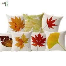 online get cheap autumn cushions home decor aliexpress com