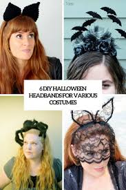 6 diy halloween headbands for various costumes styleoholic