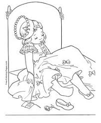 princess carriage coloring pages misc princess