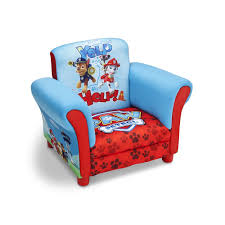 Upholstered Armchairs Uk Paw Patrol Upholstered Chair Delta Enterprise Toys