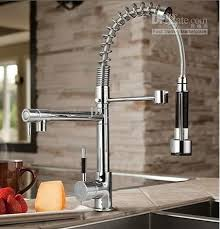 kitchen sink and faucets chic kitchen sink faucets best chrome brass pull out spray kitchen