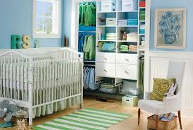 interior simple baby closet organizer mixed with some cloth