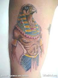 deus horus tattoo design