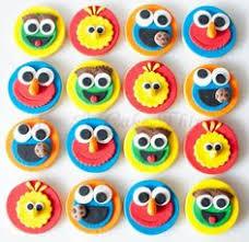 sesame cake toppers sesame cupcake toppers cupcake designs