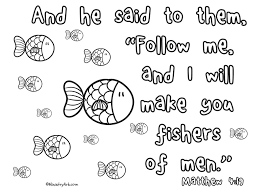 fishers of men u0027 printable matthew 4 19 printables pinterest
