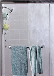 Soap Scum On Shower Door How To Clean Your Glass Shower Door With A Lemon Salt Shower