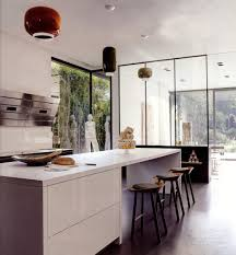 Elle Decor Kitchens by High Tech Vent Hood
