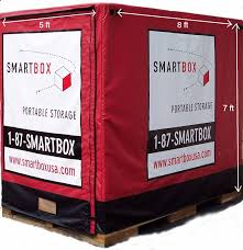portable storage unit sizes smartbox