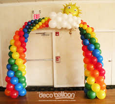 arco tres colores balloon archs arco con globos pinterest