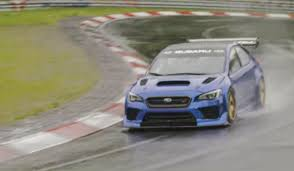 subaru nurburgring subaru is launching a nurburgring assault with a new time attack