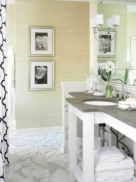 grasscloth effect bathroom tile design ideas