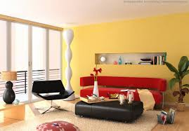 Gray And Yellow Living Room by Living Room Beautiful Yellow Wall Painting Nice U Shaped Red Faux