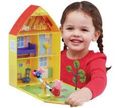 buy peppa pig peppa house garden playset argos uk