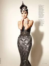 hanaa ben abdesslem fashion model profile on new york magazine philip treacy fashion topics the red list
