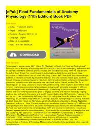 Visual Anatomy And Physiology Pdf Calaméo Fundamentals Of Anatomy
