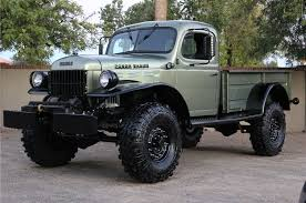 dodge truck power wagon just listed two different flavors of vintage dodge power