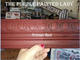 primer red the purple painted lady