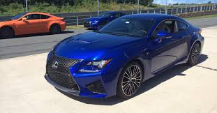 lexus rcf blue lexus rc f 351kw 550nm from new 5 0l v8 photos 1 of 2
