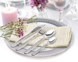 assiette jetable mariage ménagère jetable prestige argent 40 pièces vaisselle jetable mariage