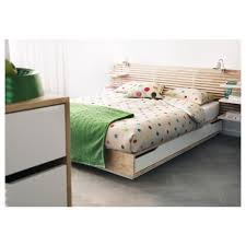 Small Double Bed Frames Ikea by Mandal Bed Frame With Storage 160x202 Cm Ikea