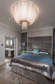Headboards And Nightstands London Dramatic Headboards Bedroom Traditional With Chandelier