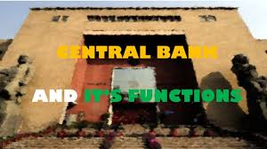 cbse class 12 economics project on central bank u0026 its functions