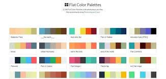 2017 color pallets web design color palette 49 color schemes for 2017 envato medium