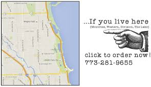 Bucktown Chicago Map by Order Online U2013 Yolk