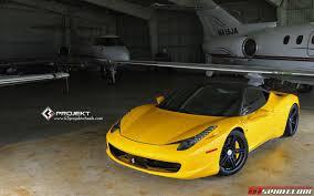 Ferrari 458 Yellow - yellow ferrari 458 italia on k3 projekt wheels gtspirit