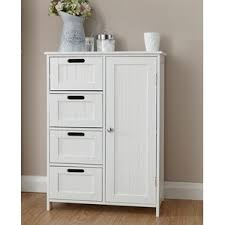 freestanding bathroom storage cabinet free standing cabinets wayfair co uk