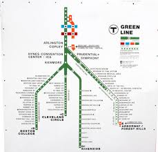 map of boston subway what happened to the a line boston streetcars
