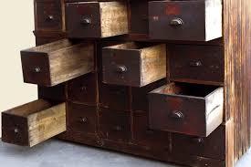 Multi Drawer Wooden Cabinet Large Antique Multi Drawer Storage Cabinet C 1890s Rehab