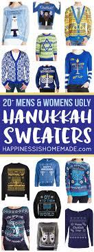 happy hanukkah sweater 20 hanukkah sweaters happiness is